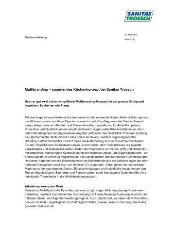Multibranding - Sanitas Troesch AG