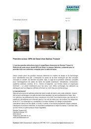 iSPA de Gessi - Sanitas Troesch AG