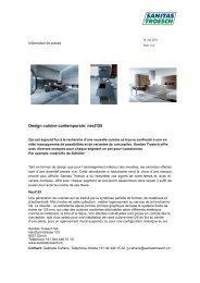 Design cuisine contemporain: next125 - Sanitas Troesch AG