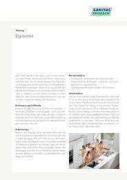"""""""Ergonomie"""" (882 KB) - Sanitas Troesch AG"""