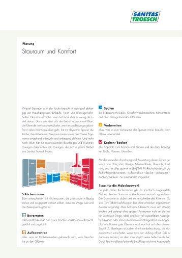 Stauraum und Komfort - Sanitas Troesch AG