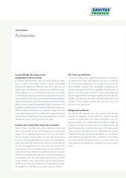 Accessoires - Sanitas Troesch AG