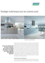 Stratégie multimarque pour les cuisines aussi - Sanitas Troesch AG