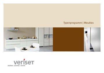 Typenprogramm | Meubles - Sanitas Troesch AG