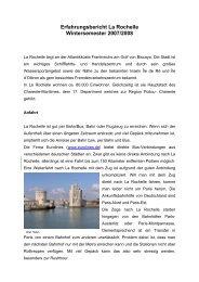 Erfahrungsbericht La Rochelle - Fachbereich Elektrotechnik und ...
