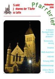 Pfarrbrief 06-12.cdr - St. Johannes Lette