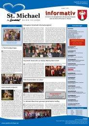 Informativ November 2012 - Verein Wirtschaft St. Michael