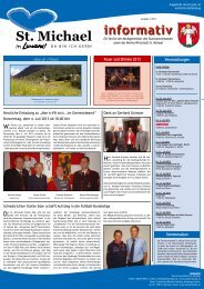 Informativ Juni 2013 - St. Michael
