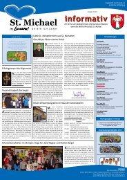 Informativ März 2013 - Verein Wirtschaft St. Michael