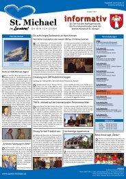 Informativ Jänner 2011 - Verein Wirtschaft St. Michael