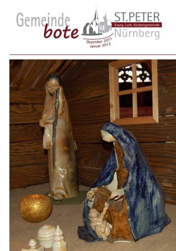 Dezember 2011/Januar 2012 - Kirchengemeinde St. Peter