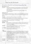 Gemeindebote Juni 2013 - Kirchengemeinde St. Peter - Page 6