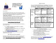 Anmeldung und Infos zur Sternsingeraktion 2013 der ... - St. Petrus