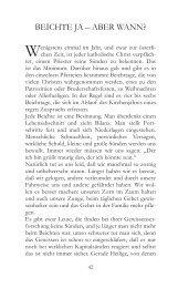 Beichte ja – aBer wann? - Sankt Ulrich Verlag