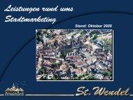 Stand: Oktober 2009 - Stadt St. Wendel