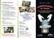 05. bis 07. August 2011 - Stadt St. Wendel