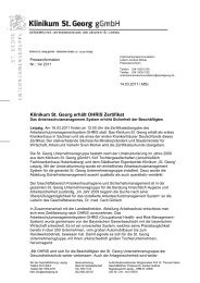 Pi 14- OHRIS Zertifizierung - St. Georg