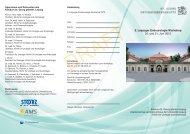 Programm und Anmeldung - St. Georg