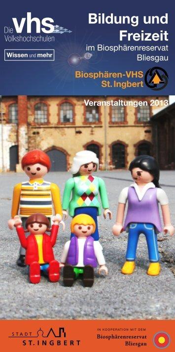 Bildung und Freizeit - Stadt St. Ingbert