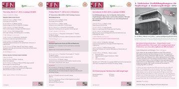 9. Sächsischer Fortbildungskongress für Nephrologie ...