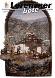 Lorenzner Bote - Ausgabe Dezember 2011 (3,02 MB