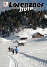 Lorenzner Bote - Ausgabe Februar 2010 (1,35 MB