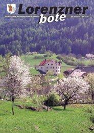 Lorenzner Bote - Ausgabe Mai 2008 (2,12 MB) (0 bytes)