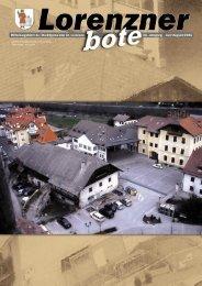 Lorenzner Bote - Ausgabe Juli/August 2005 (2,29MB) (0 bytes)