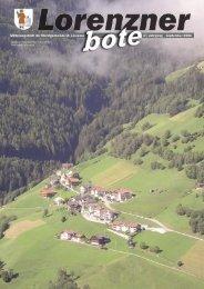 Lorenzner Bote - Ausgabe September 2006 (2,13 MB) (0 bytes)