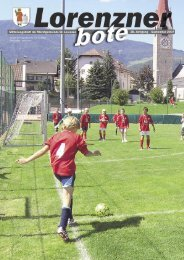Lorenzner Bote - Ausgabe September 2007 (2,20 MB) (0 bytes)