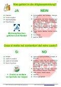 Der richtige Umgang mit dem Abfall Come smaltire correttamente i ... - Page 7