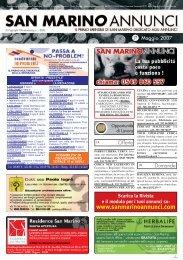 Maggio 2007 - San Marino Annunci