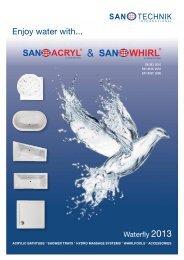 Enjoy water with... - Sanotechnik