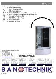 TR30-TR31 - Sanotechnik