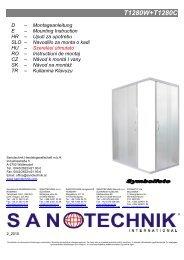 T1280W+T1280C - Sanotechnik