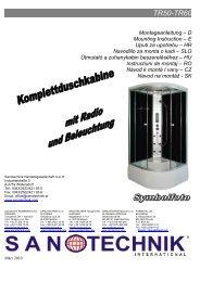 TR50-TR60 - Sanotechnik