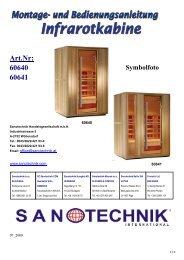 Art.Nr: 60640 60641 Symbolfoto - Sanotechnik
