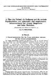 Teil 2. Schweiz Arch Neurol Psychiatr. 1920 - Sanp.ch