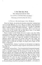 Der Fall Ellen West. Eine anthropologisch-klinische Studie ... - Sanp.ch