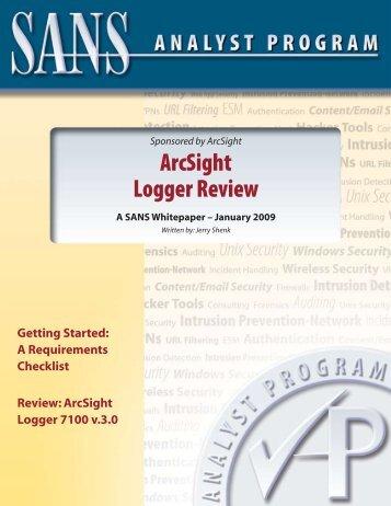 Hewlett Packard Enterprise's ArcSight ESM: SIEM product ...