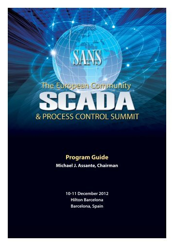 to view the summit agenda. - SANS Institute