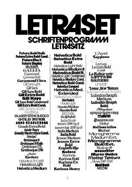 Alte Letraset-Schriften - Old Letraset Fonts - Sanskrit Web