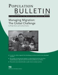 Managing Migration: The Global Challenge, Population Bulletin, Vol ...