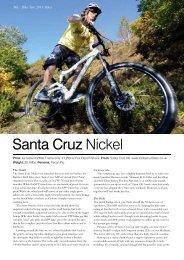 Santa Cruz Nickel - Santa Cruz Bikes