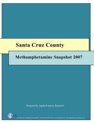 Report - County of Santa Cruz Health Services Agency