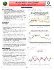 Influenza Report V3-Issue2 2012 - County of Santa Cruz Health ...