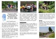 Tandemtreffen im Chiemgau am Pelhamer See 17.-20.6. 2004