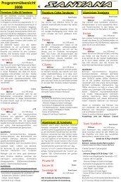 Programmübersicht 2008
