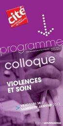 Programme - Initiative éthique et droits des malades