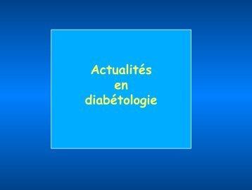 Traitements du Diabète, Actualités